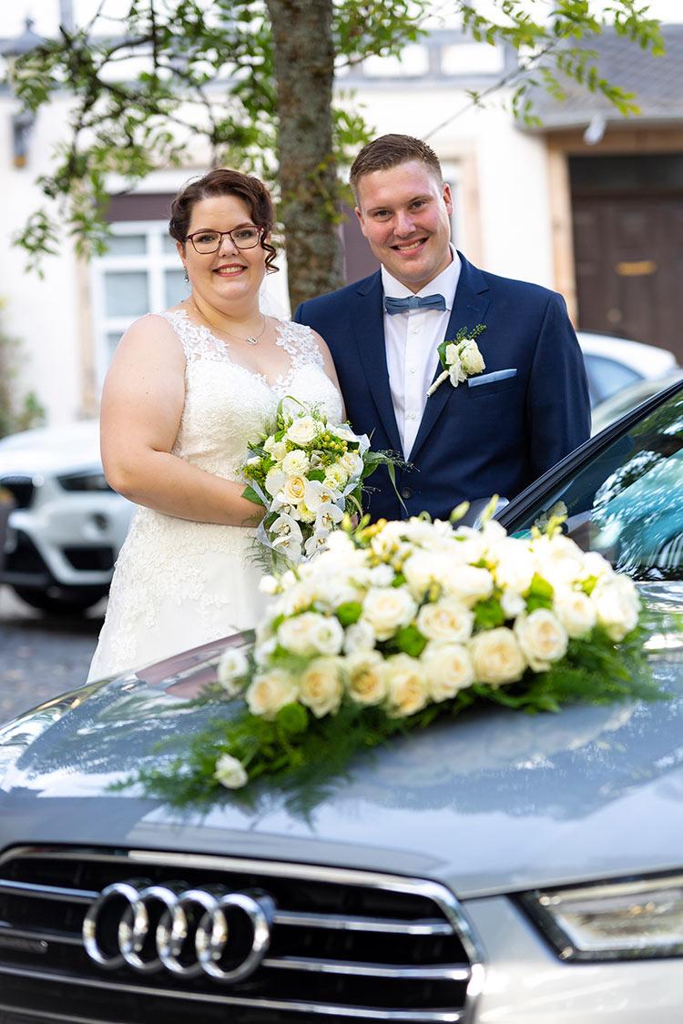 Audi als Brautwagen
