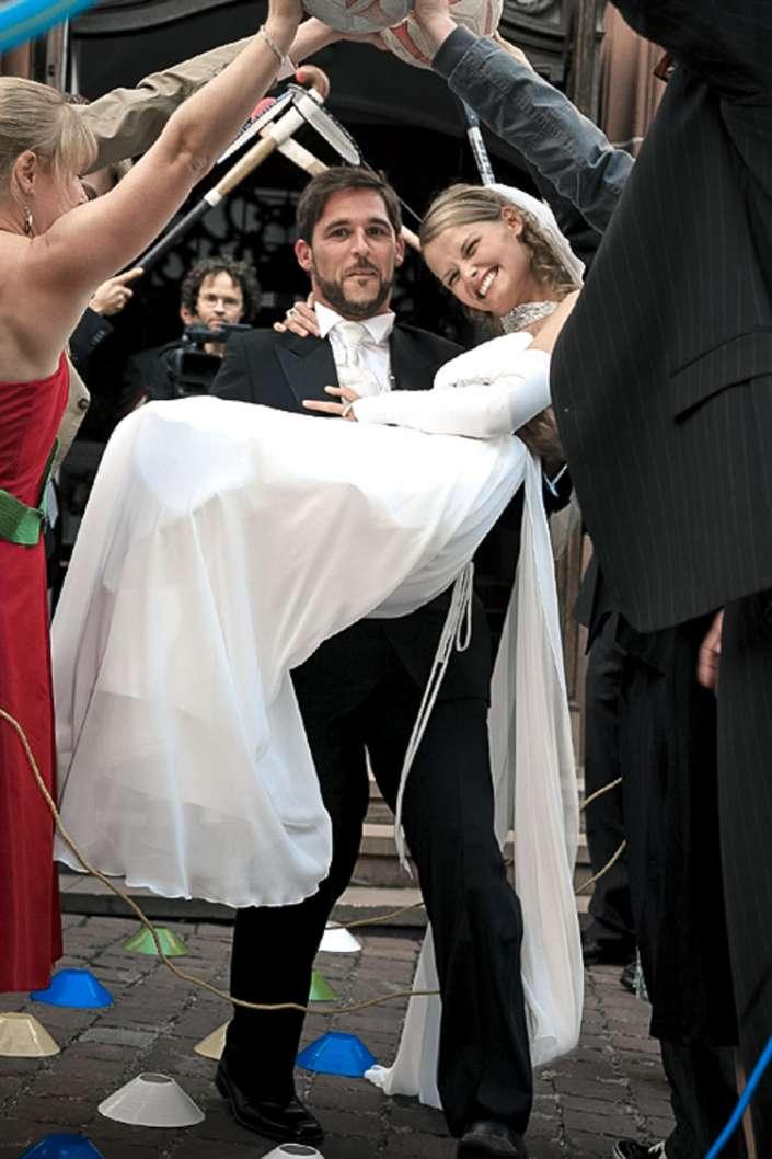 die Braut tragen