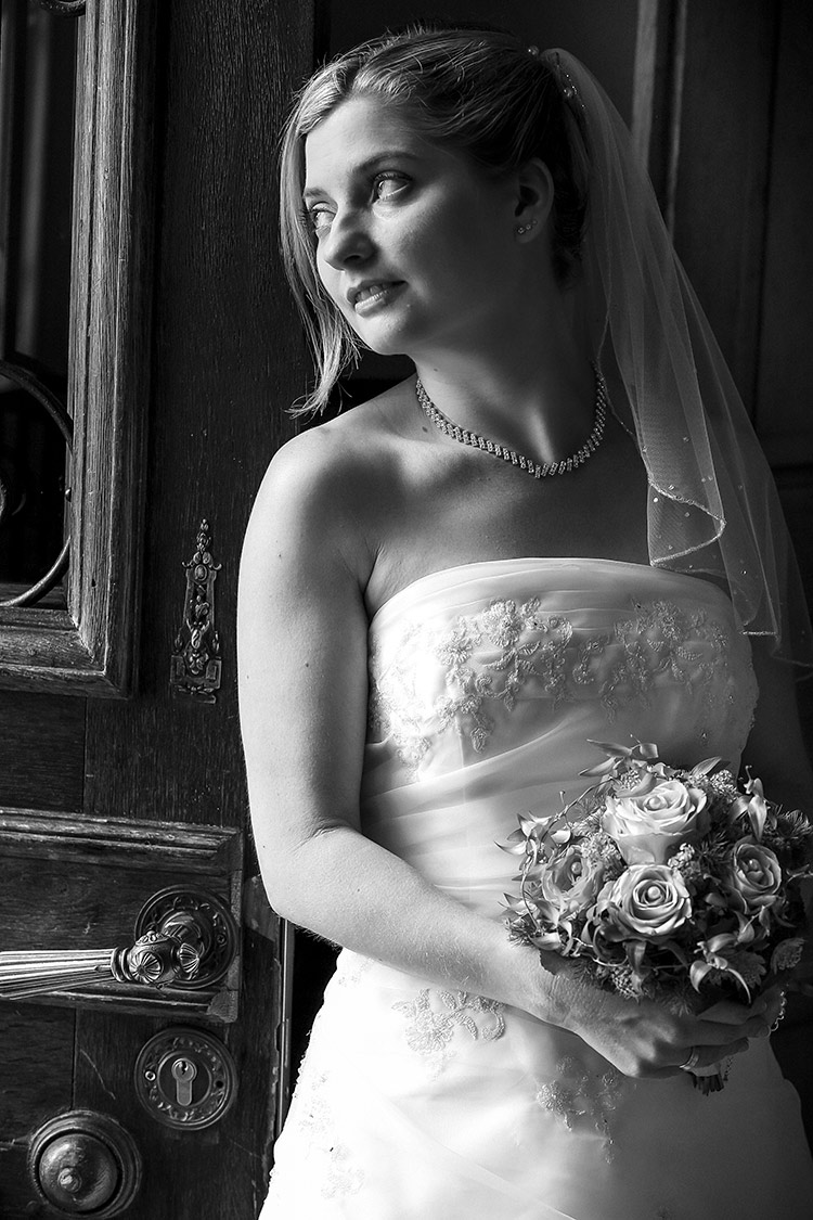 Brautfotos-schwarz-weiß