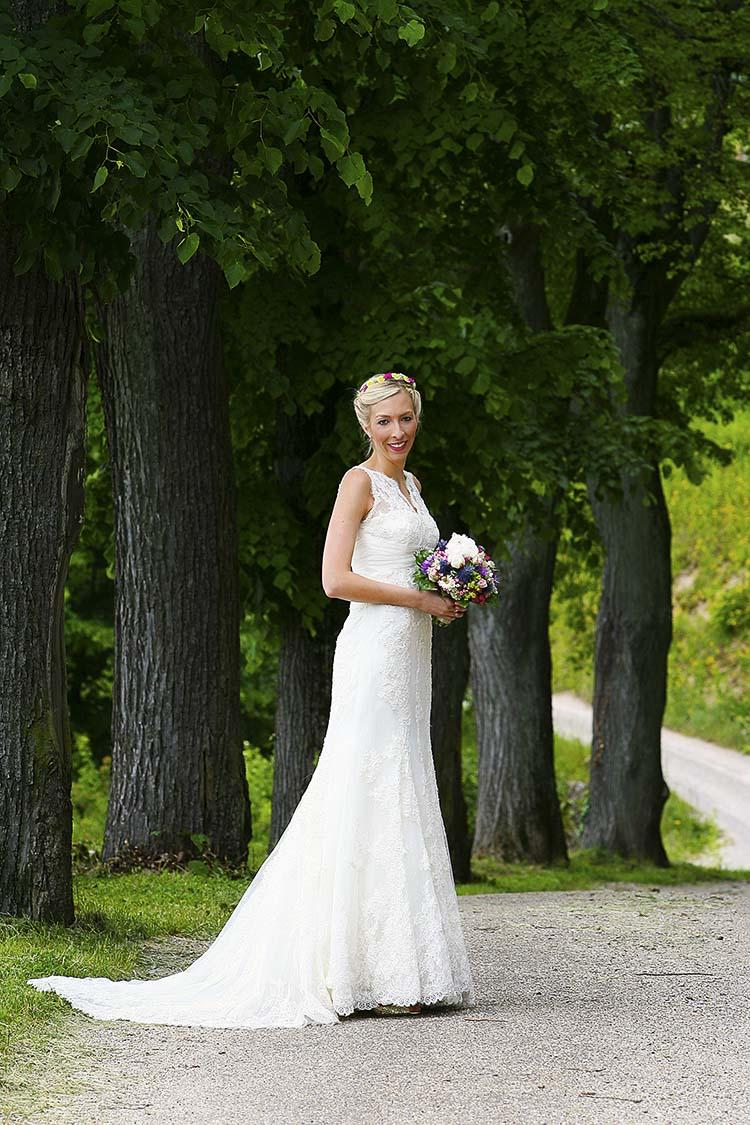 elegantes Brautfoto