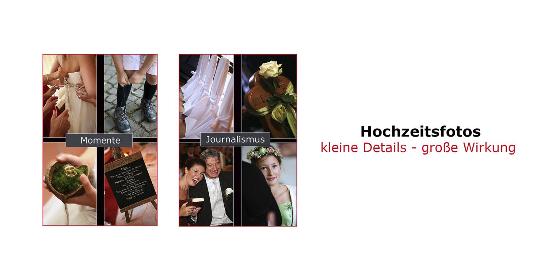 Bruchsal Profi Hochzeitsfotograf Collage