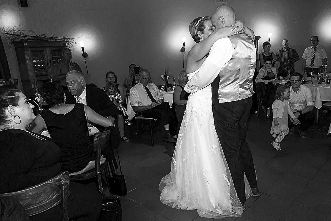 der Eröffnungstanz Hochzeitsfeier in Ettlingen