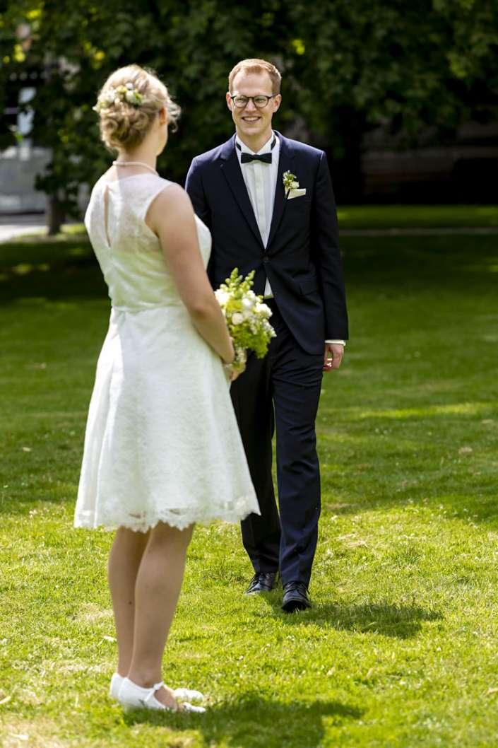 Hochzeitsfotografie beim Hochzeitsfotografen in Ettingen