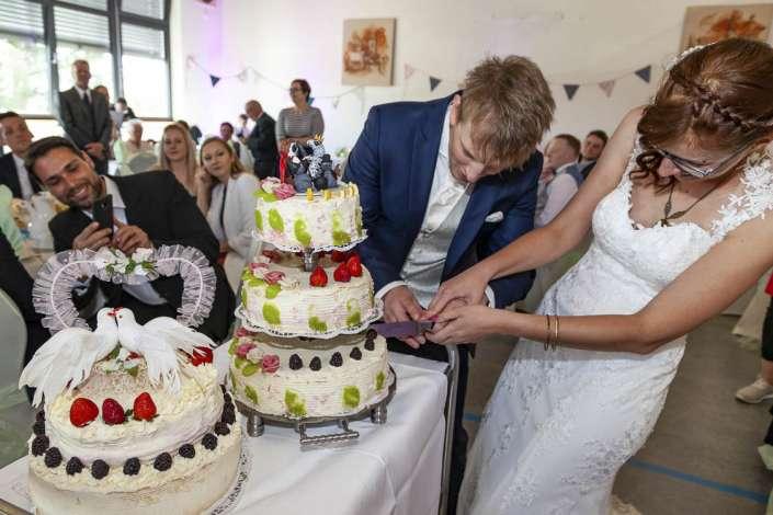 Reportagefoto von der Hochzeit in Germersheim