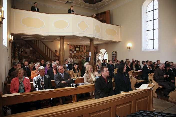 Foto Reportage Hochzeit. Die Braut stammt aus Simmern