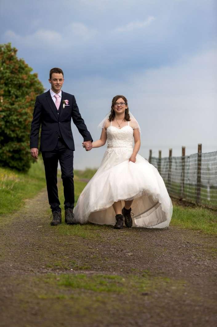 Hochzeitsfoto vom Fotografen aus Emmelshausen, wandern