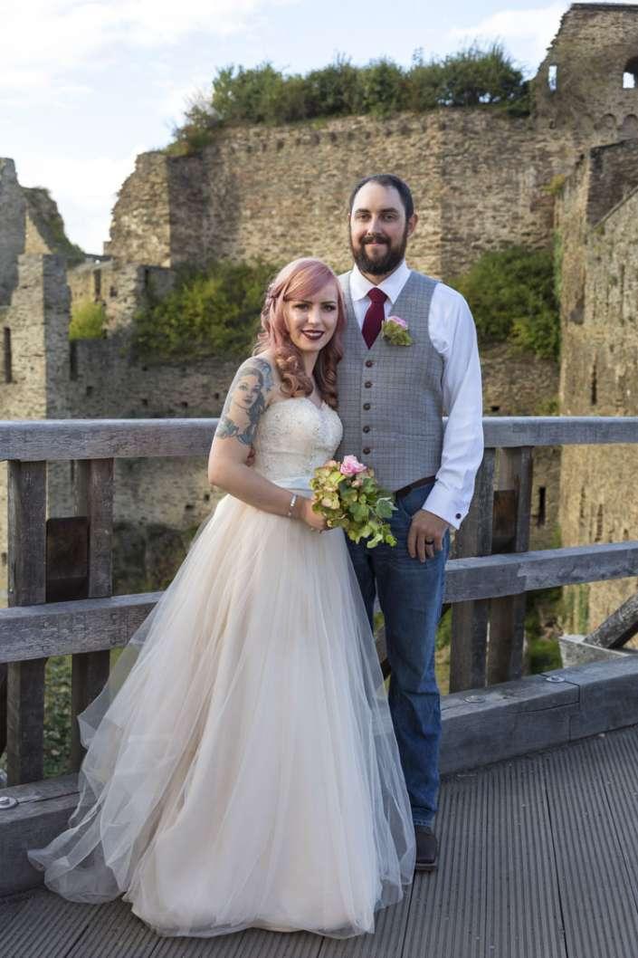 Fotograf für Hochzeit aus St. Goar, fotografiert Paar aus USA