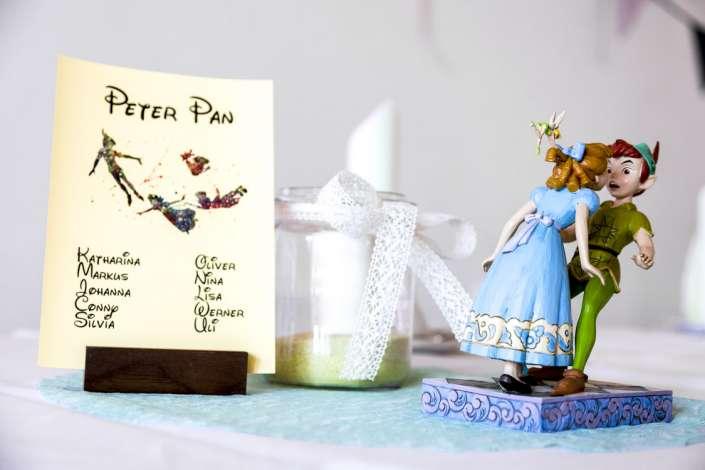 Fotos besondere Tischdeko Hochzeit Walt Disney