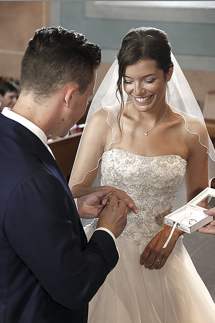 Freiburg-Hochzeitsfotograf bei der Trauung