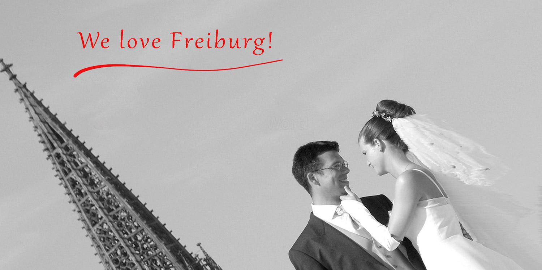 Freiburg, natürliche Hochzeitsfotos - we love
