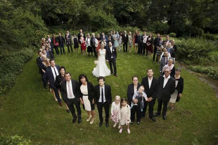 Gefülltes Gruppenfoto-Herz