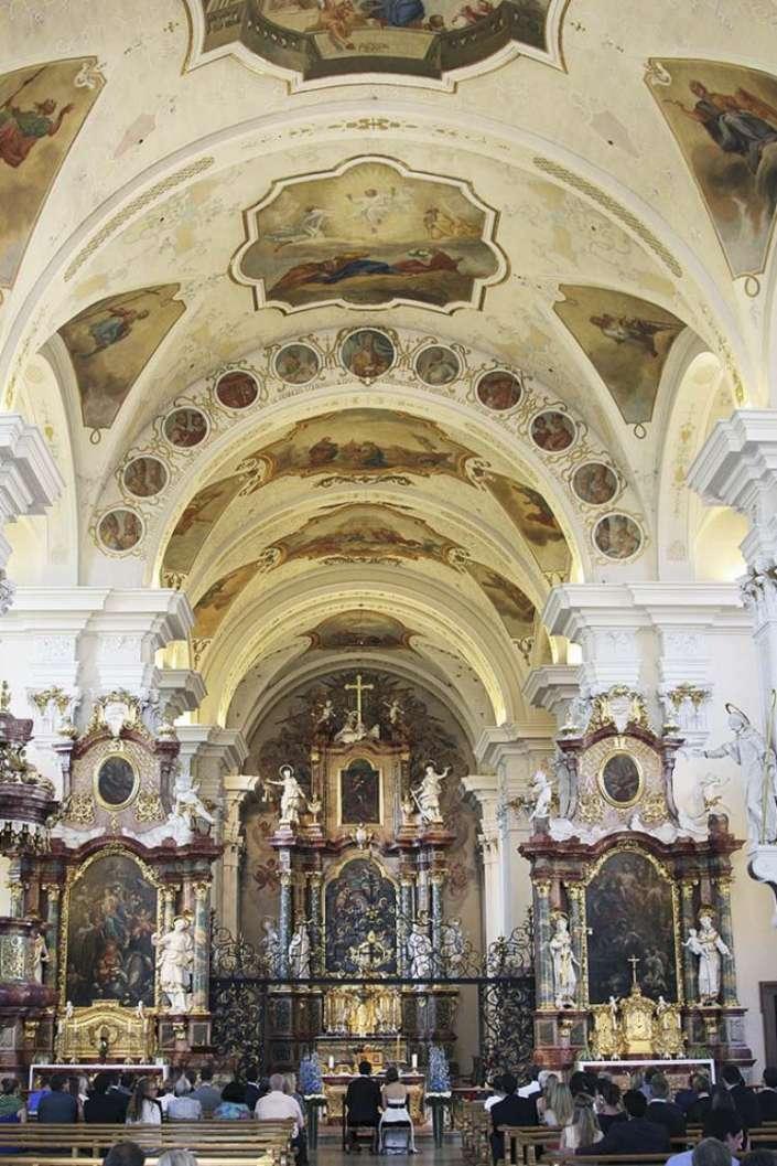 Hochzeit in der Klosterkirche, in St.Peter