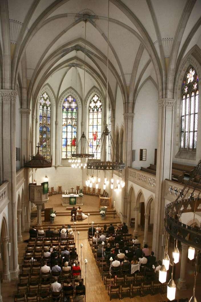 Trauung in der Stadtkirche in Baden-Baden