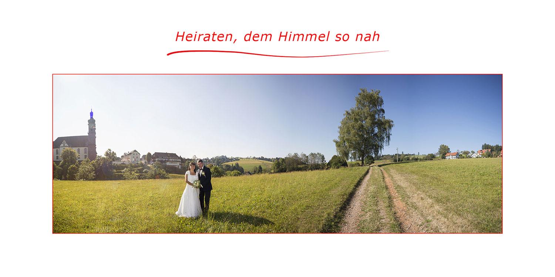 Hochzeitsfotos in St. Peter - dem Himmel so nah