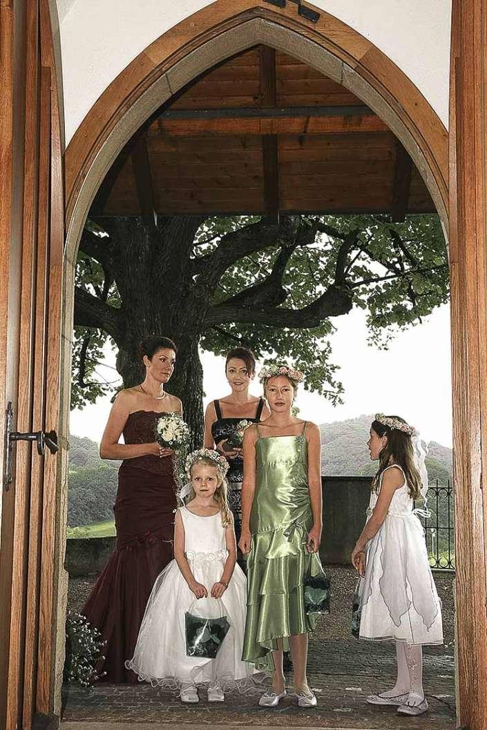 kirchliche Hochzeit, nähe Kastellaun im Rhein-Hunsrück-Kreis