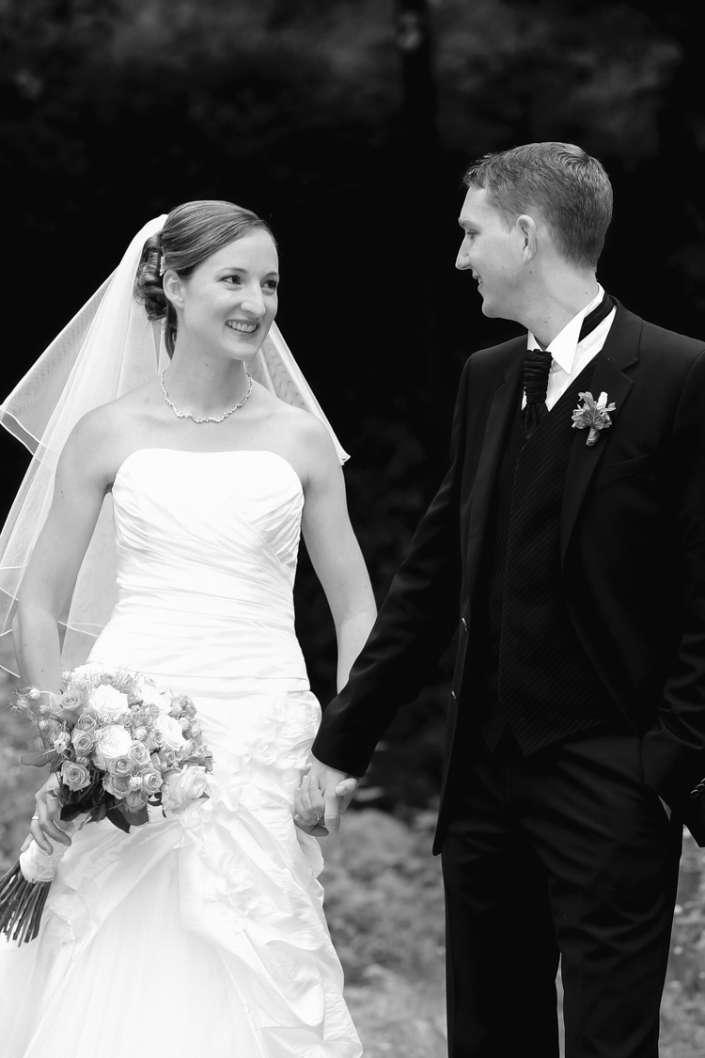 Hochzeitsbilder Ettlingen, Fotografie in schwarzweiß