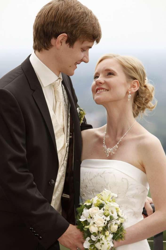 Hochzeitsbild, verliebt in Waldkirch