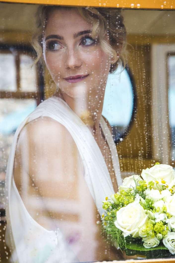 Hochzeitsfotos bei Regen in Landau