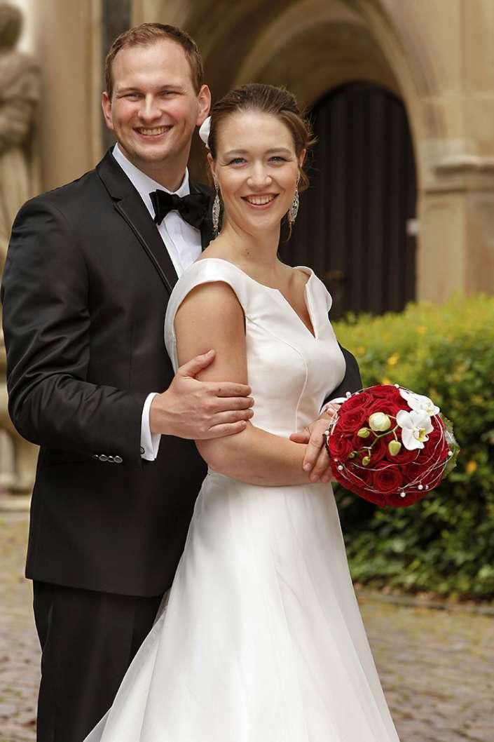 schönes Hochzeitsfoto in Germersheim