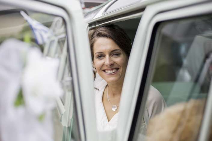 Hochzeitsfoto vom Fotograf im Hunsrück