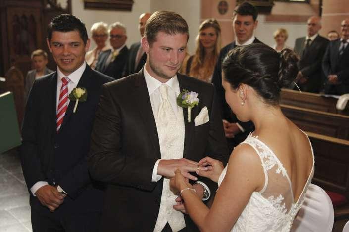 Hochzeitsfotografie in Simmern bei Trauung