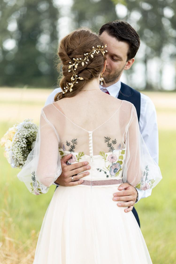 der Kuss vom Brautpaar