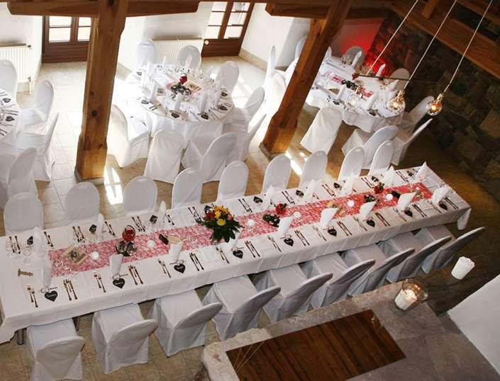 Festtafel Hochzeit