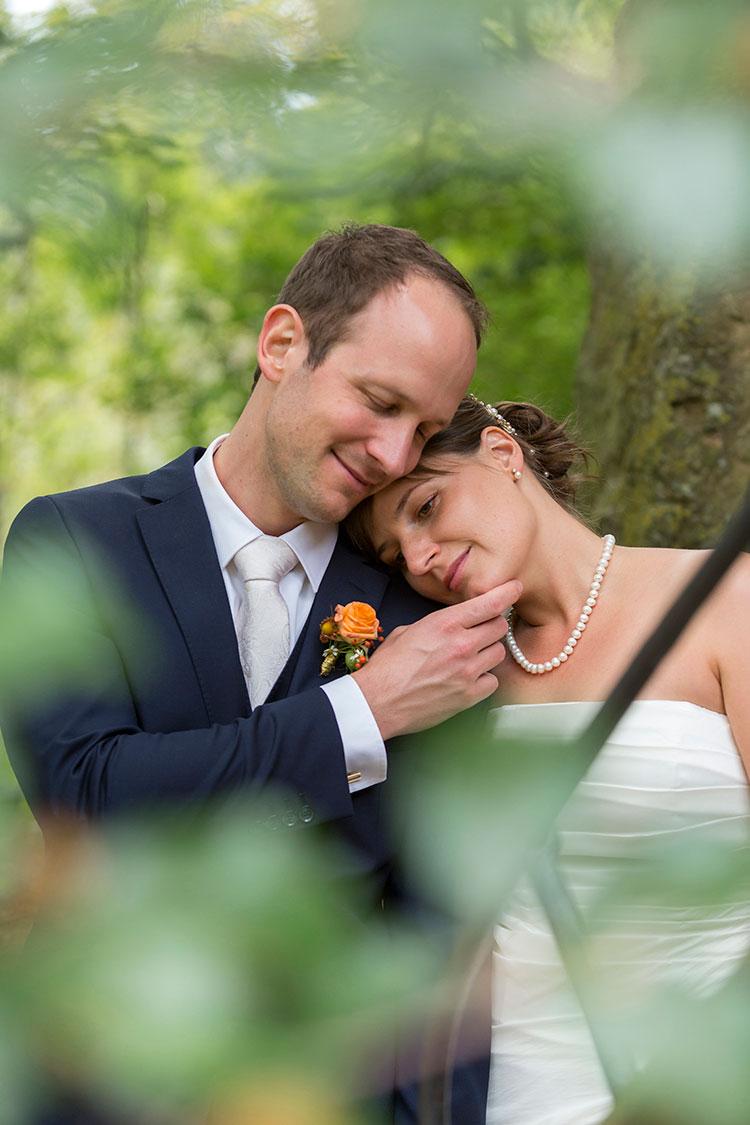 Hochzeitsfotos am Mittelrhein, im Grünen