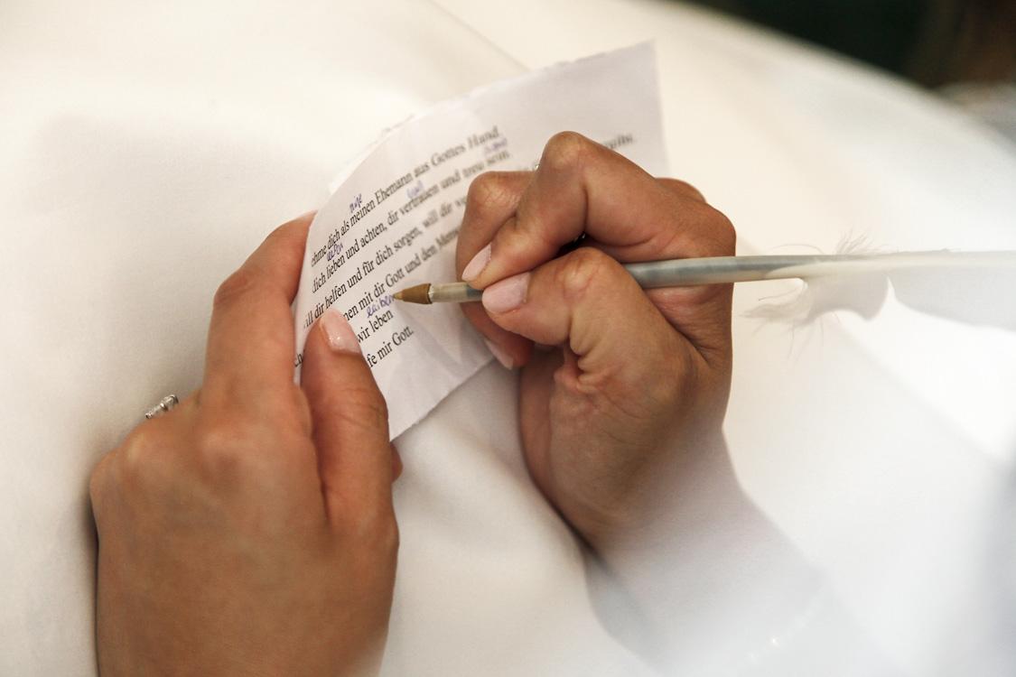 letze Notizen machen