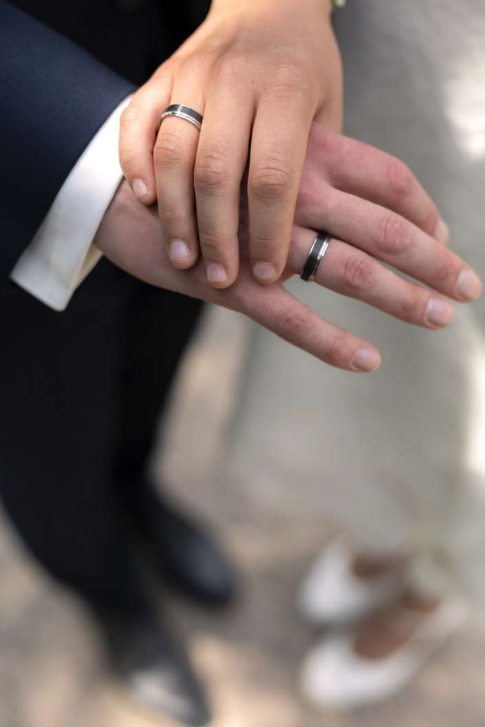 Ringe, Hände und Füße