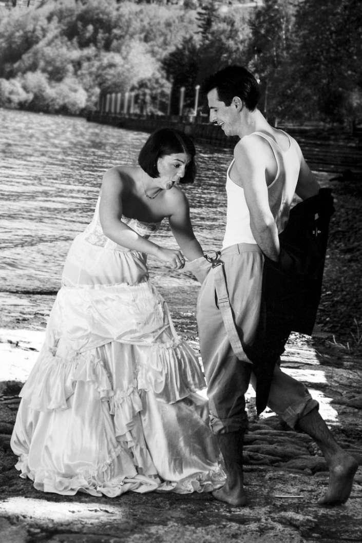 Hochzeitsfotos in Luino