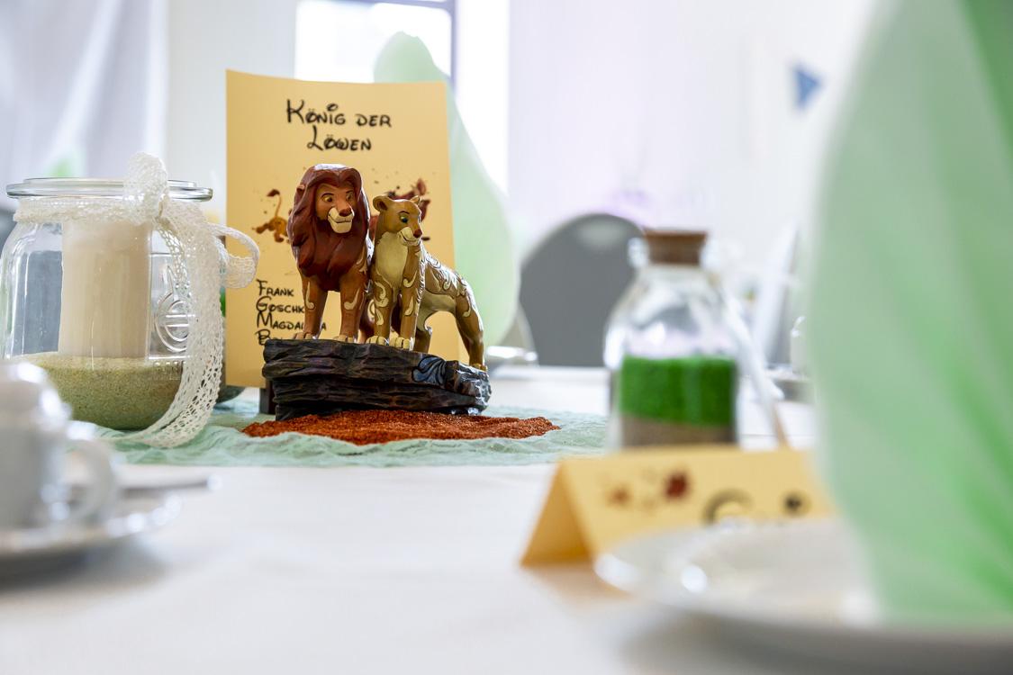Tischdeko und Platzkarten