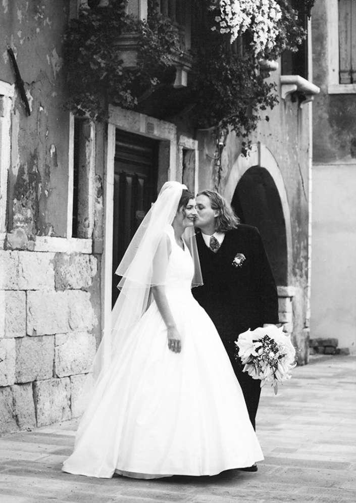 tolles Hochzeitsfoto in Italien