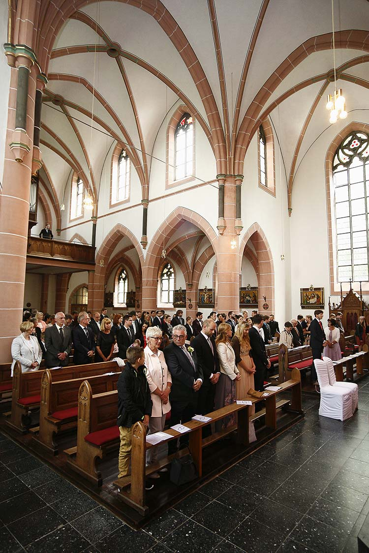 Kirche in Karlsruhe Hochzeit