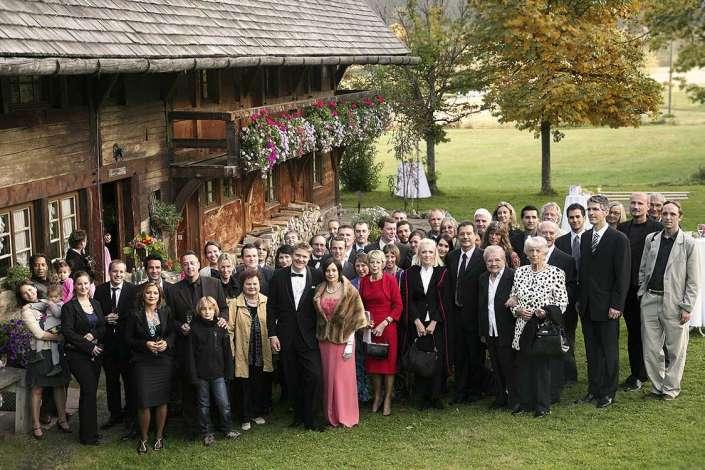 Unsere Gäste beim Hochzeitsfest