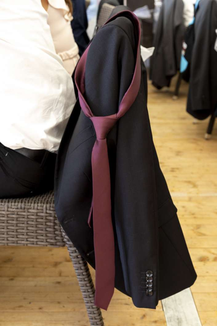 abgelgte Krawatte