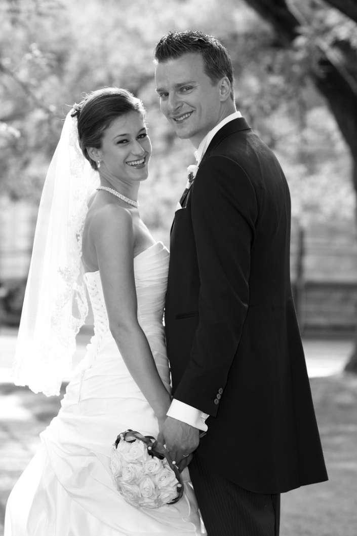 Hochzeitsfotos in Durlach, im Park