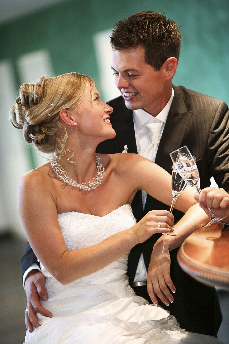 lebensfrohe Hochzeitsfotos in Karlsruhe beim Fotografen