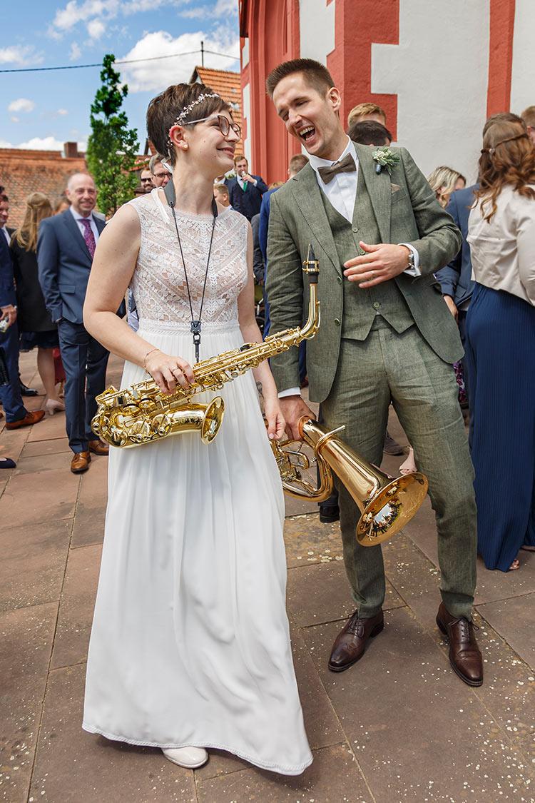 Hochzeitsfotos spontan