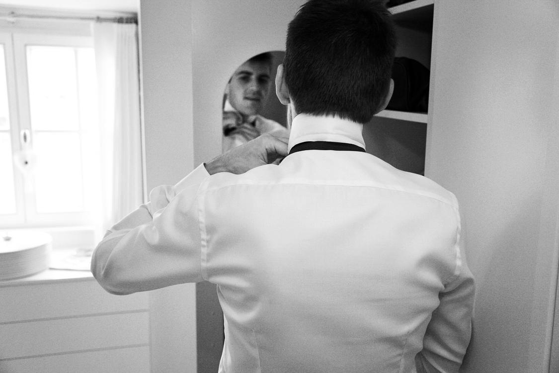 Bräutigams Spiegel