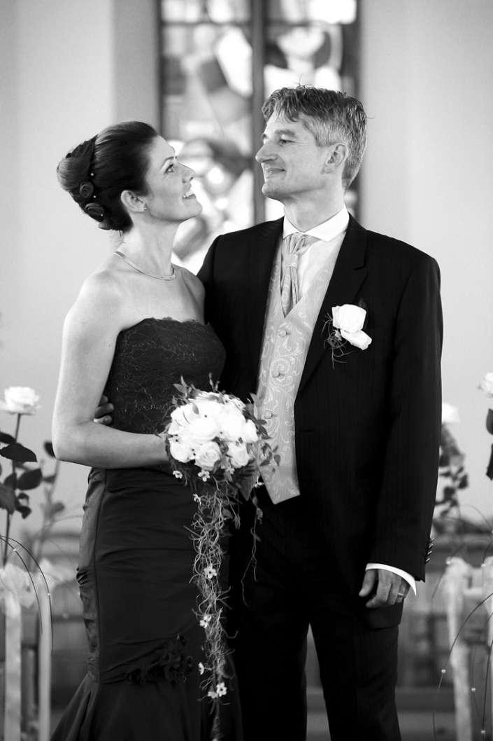schöne, stolze Braut