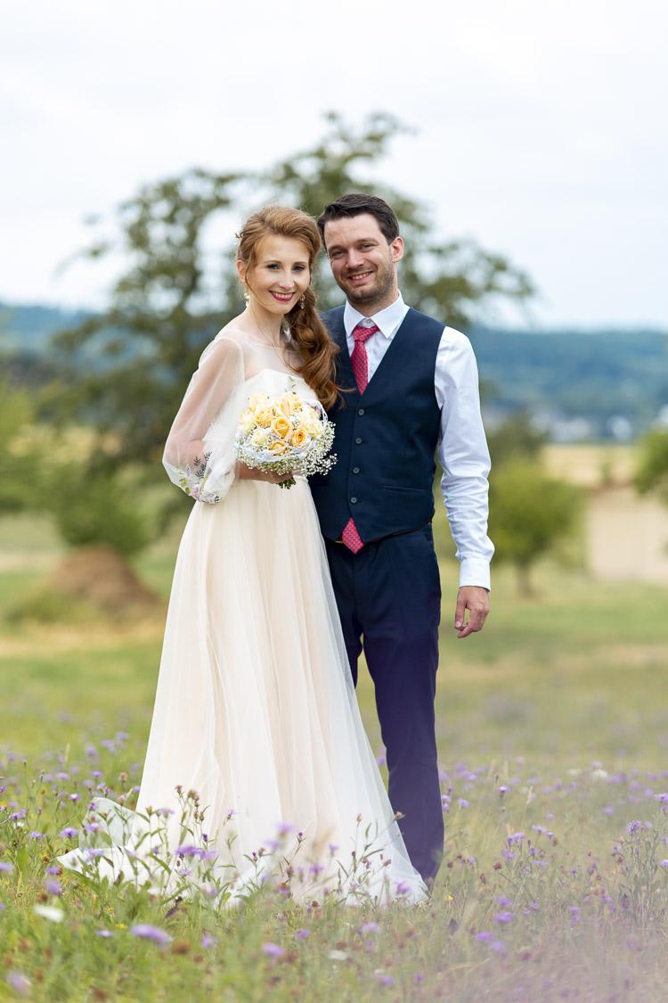 nätürliches Hochzeitfoto