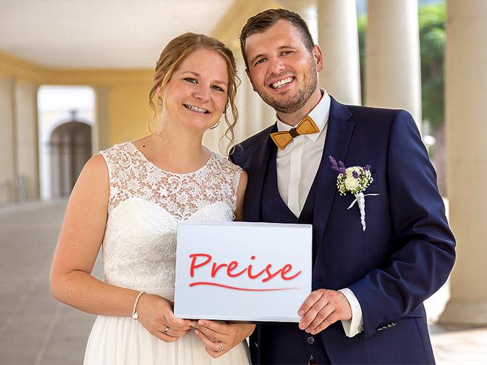 Preise Hochzeitsfotos