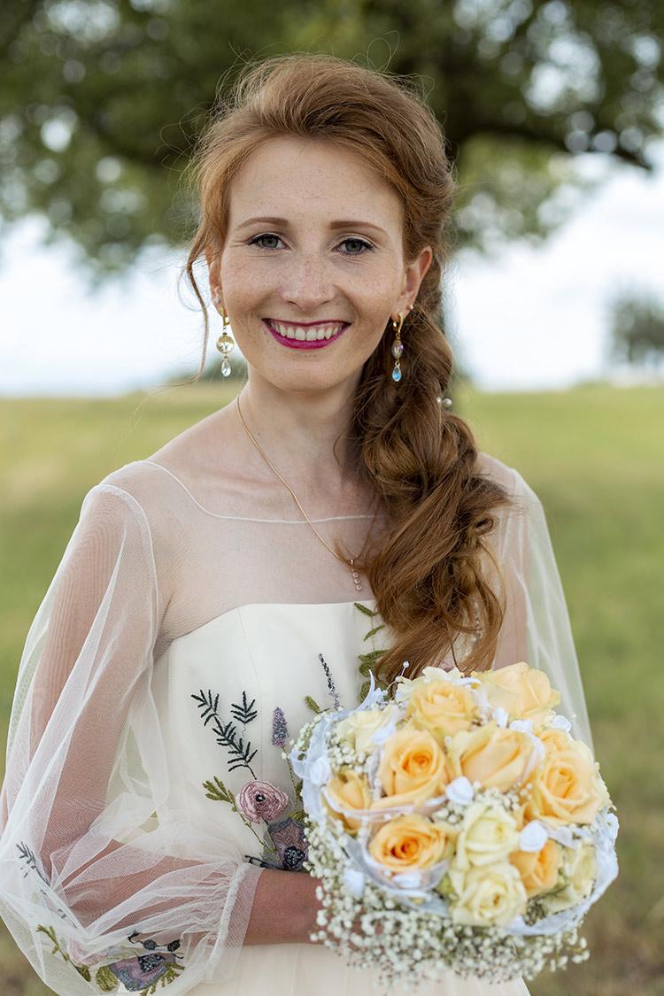 Die Braut im Grünen