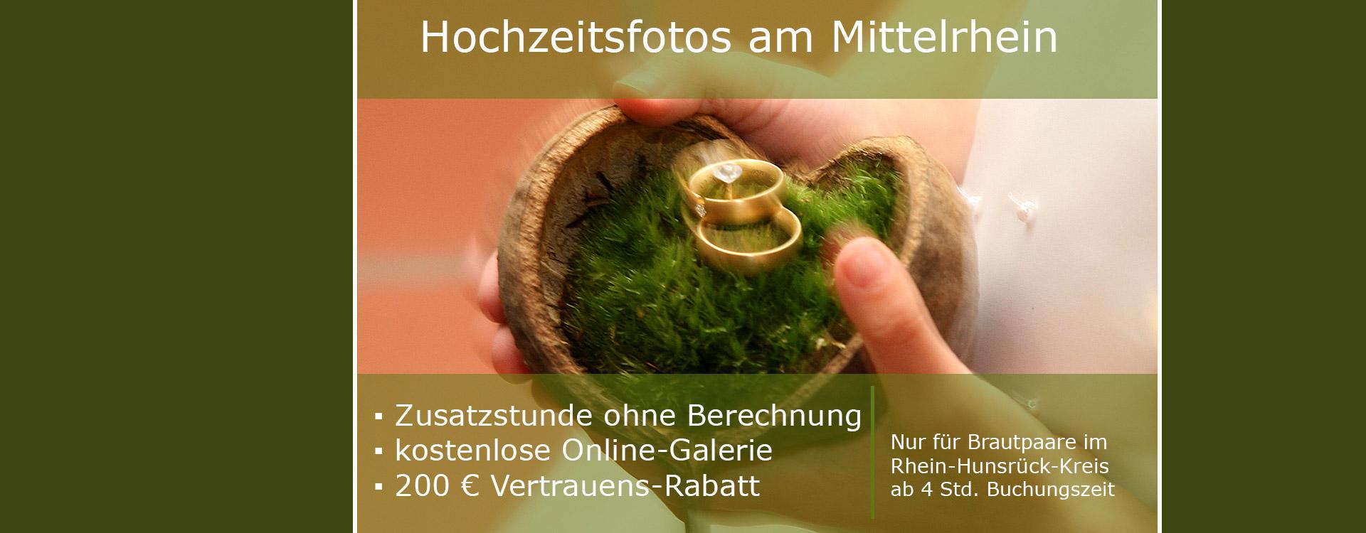 Hochzeitsfotos Mittelrhein, Boppard und Oberwesel