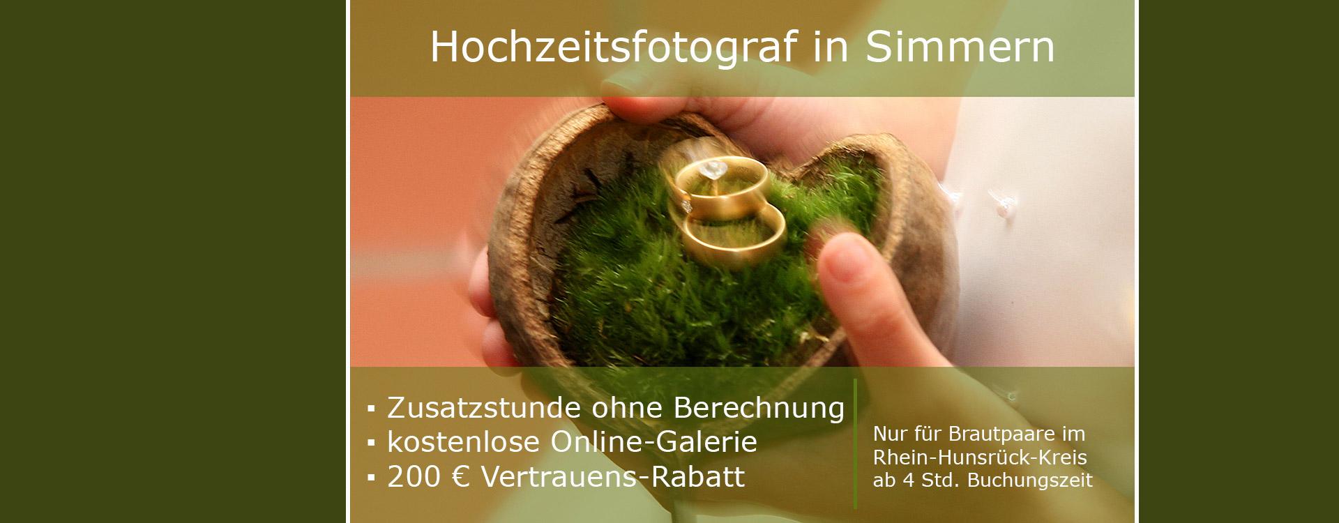 Hochzeitsfotograf-Simmern, Preise