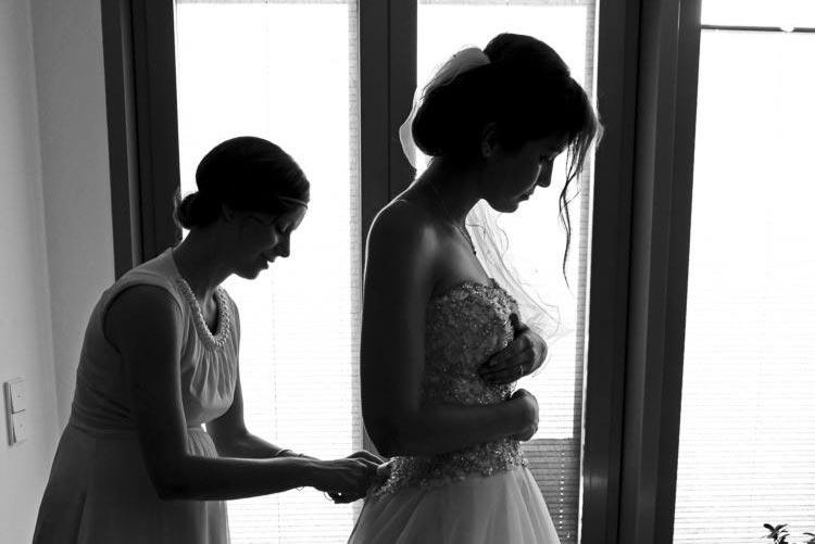 Digitales Hochzeitsfoto-Schaufenster